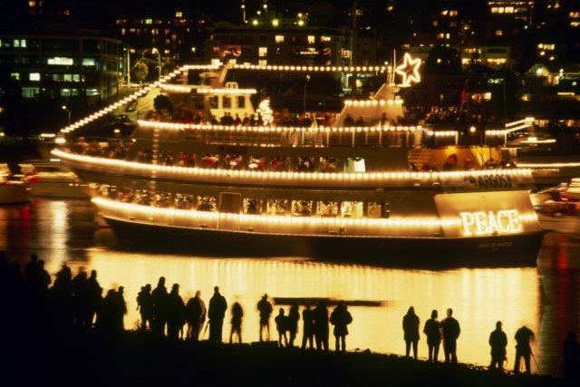Christmas Ship Visit