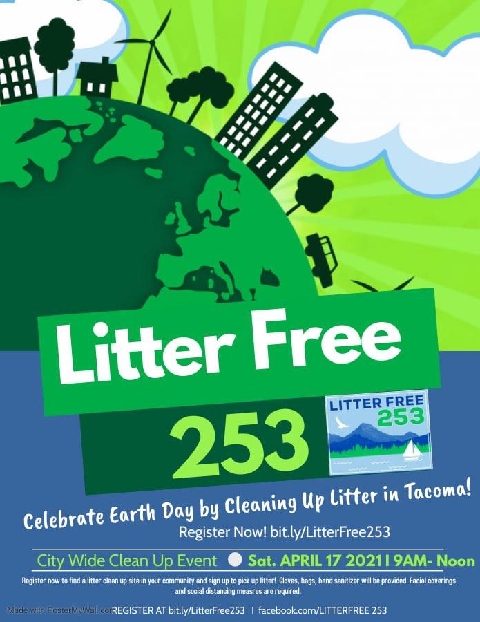 Litter Free 253 poster